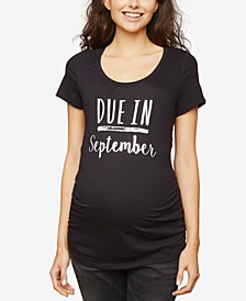 Due In™ Maternity Tee