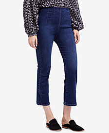 Free People Extra-High-Rise Kick Flare Jeans
