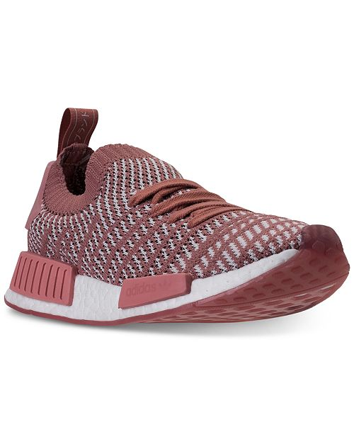 58507e1b2ccaa ... adidas Women s NMD R1 STLT Primeknit Casual Sneakers from Finish ...