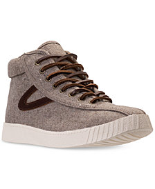 Tretorn Men's Nylite Hi 4 Casual Sneakers from Finish Line