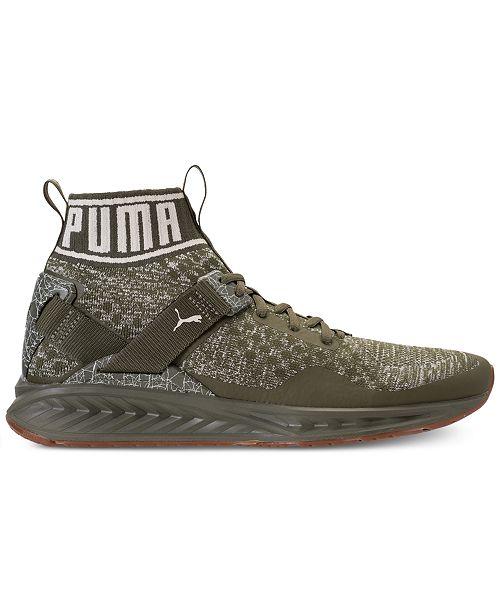 brand new c7b92 8c1fa Puma Men's Ignite Evoknit Hypernature Casual Sneakers from ...
