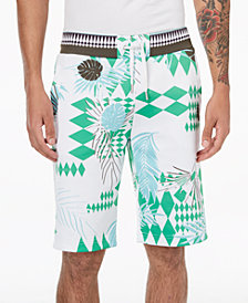 Versace Men's Graphic-Print Shorts