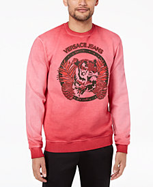 Versace Men's Graphic-Print Sweatshirt