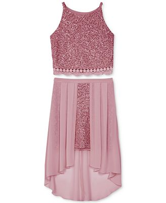 Bcx 2 Pc Lace Dress Set Big Girls Dresses Kids Macy S