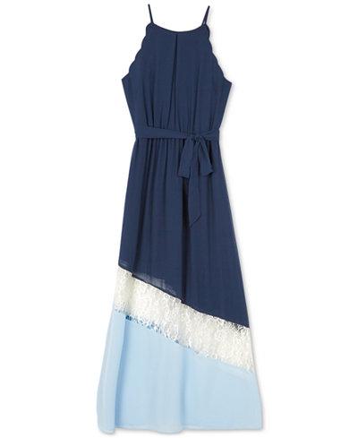 BCX Colorblocked Maxi Dress, Big Girls