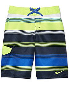 "Nike Stripe Drift 9"" Swim Trunks, Big Boys"