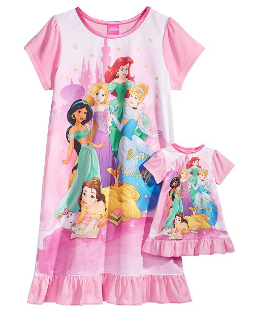 f20aea444e Disney Princesses Nightgown with Doll Nightgown