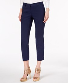 MICHAEL Michael Kors Petite Miranda Stretch Ankle Pants, In Regular and Petite