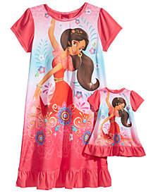 Disney's® Princess Elena of Avalor Nightgown with Doll Nightgown, Little Girls & Big Girls