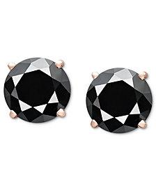 Diamond Stud Earrings (3 ct. t.w.) in 14k Rose Gold