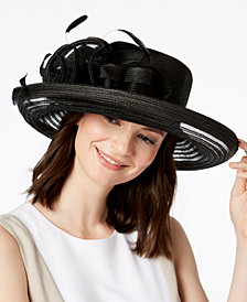 August Hats Citrine Romantic Dressy Hat