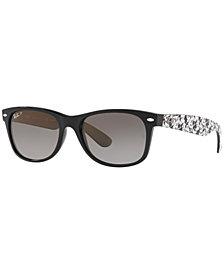 Ray-Ban NEW WAYFARER Polarized Sunglasses, RB2132 55