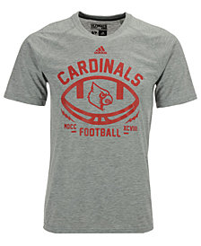 adidas Men's Louisville Cardinals Football Electric T-Shirt