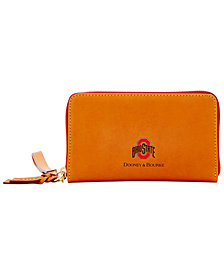 Dooney & Bourke Ohio State Buckeyes Florentine Zip Around Wallet