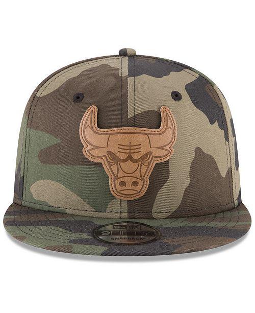 45ec47ce614 ... shopping new era chicago bulls camo 9fifty snapback cap sports fan shop  by lids men macys