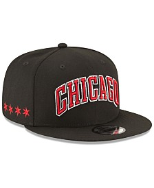 New Era Chicago Bulls Statement Jersey Hook 9FIFTY Snapback Cap