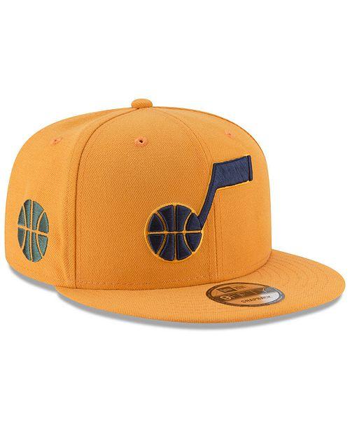 wholesale dealer cc3c1 b91c1 ... New Era Utah Jazz Statement Jersey Hook 9FIFTY Snapback Cap ...