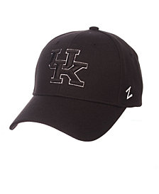 Zephyr Kentucky Wildcats Black & White Competitor Cap