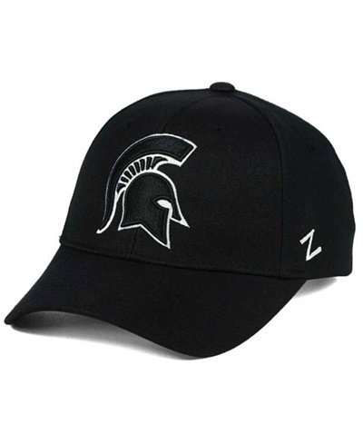 Zephyr Michigan State Spartans Black & White Competitor Cap