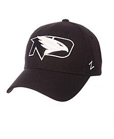Zephyr North Dakota Fighting Hawks Black & White Competitor Cap