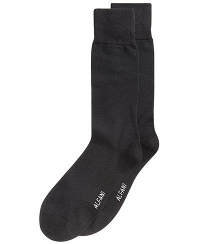 Alfani Men's Piqué Knit Dress Socks, Created for Macy's