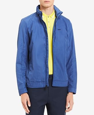 Calvin Klein Men's Full-Zip Jacket with Zip-Out Hood