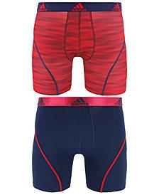 adidas Men's 2-Pk. Sport Performance ClimaLite® Graphic Boxer Briefs
