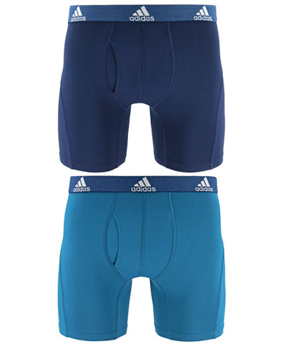 adidas Men's 2-Pk. Relaxed Performance ClimaLite® Boxer Briefs