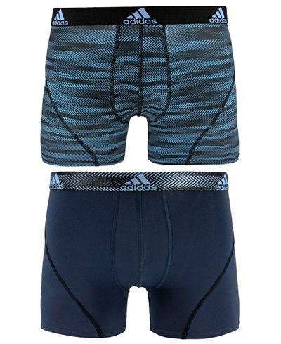 adidas Men's 2-Pk. Sport Performance ClimaLite® Graphic Trunks