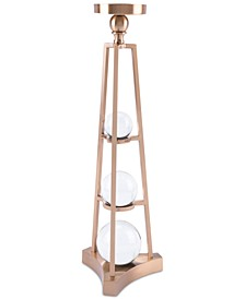 Large Candle Holder with Orbs