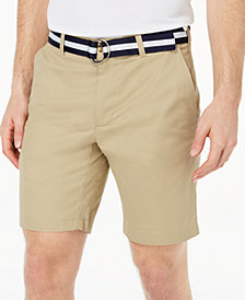 "Club Room Men's 9"" Classic-Fit Stretch Shorts, Created for Macy's"