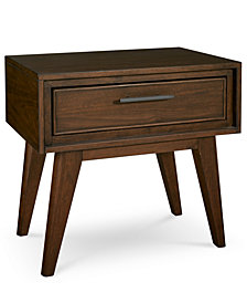Jollene USB Outlet Nightstand, Created for Macy's