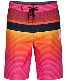 "Hurley Men's Line Up Stripe 21"" Board Shorts"