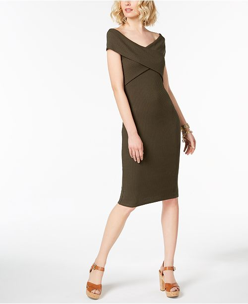 f234d5ac19c Michael Kors Crossover Sweater Dress in Regular   Petite Sizes ...