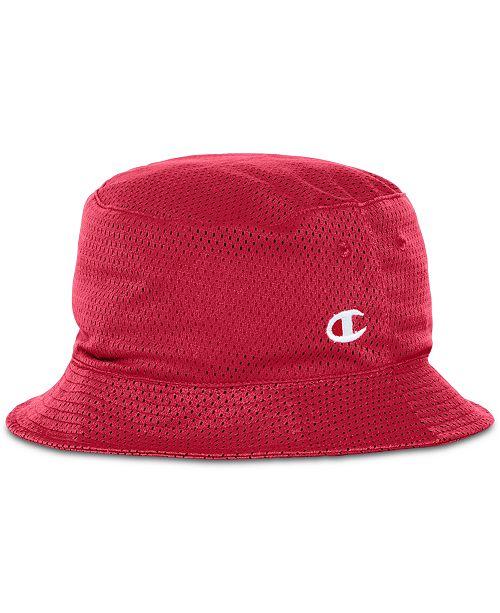 Champion Men s Reversible Mesh Bucket Hat - Hats 827f6b646e2