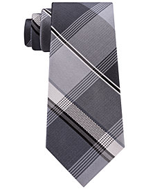 Kenneth Cole Reaction Men's Ian Plaid Silk Tie