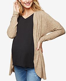 Motherhood Maternity Open-Front Cardigan