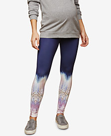 Motherhood Maternity Printed Leggings