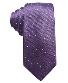 Tasso Elba Men's Dot Silk Tie, Created for Macy's