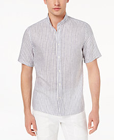 Daniel Hechter Paris Men's Angus Stripe Linen Shirt