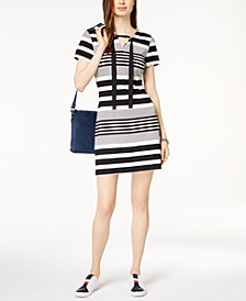 Tommy Hilfiger Striped Dress, Created for Macy's