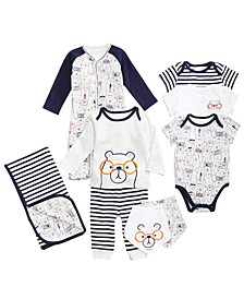 Bear-Print Layette Separates, Baby Boys, Created for Macy's