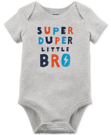 Carter's Baby Boys Graphic-Print Cotton Bodysuit