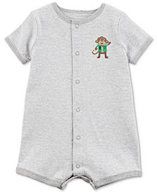 Carter's Monkey Cotton Romper, Baby Boys
