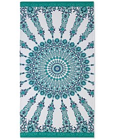 "Body Glove Medallion Cotton 36"" x 70"" Printed Beach Towel"