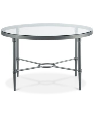 Boone Round Coffee Table, Quick Ship