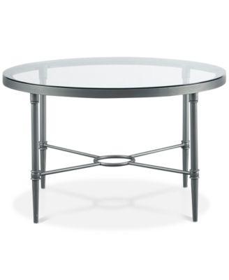 Davine Round Cocktail Table, Quick Ship