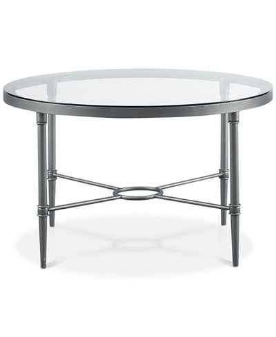 Davine Round Cocktail Table, Quick Ship