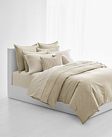 CLOSEOUT! Lauren Ralph Lauren Graydon Cotton Melange Full/Queen Duvet Cover