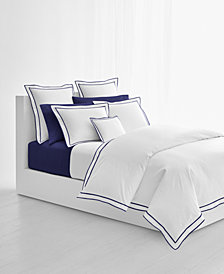Lauren Ralph Lauren Spencer Cotton Sateen Border King Duvet Cover